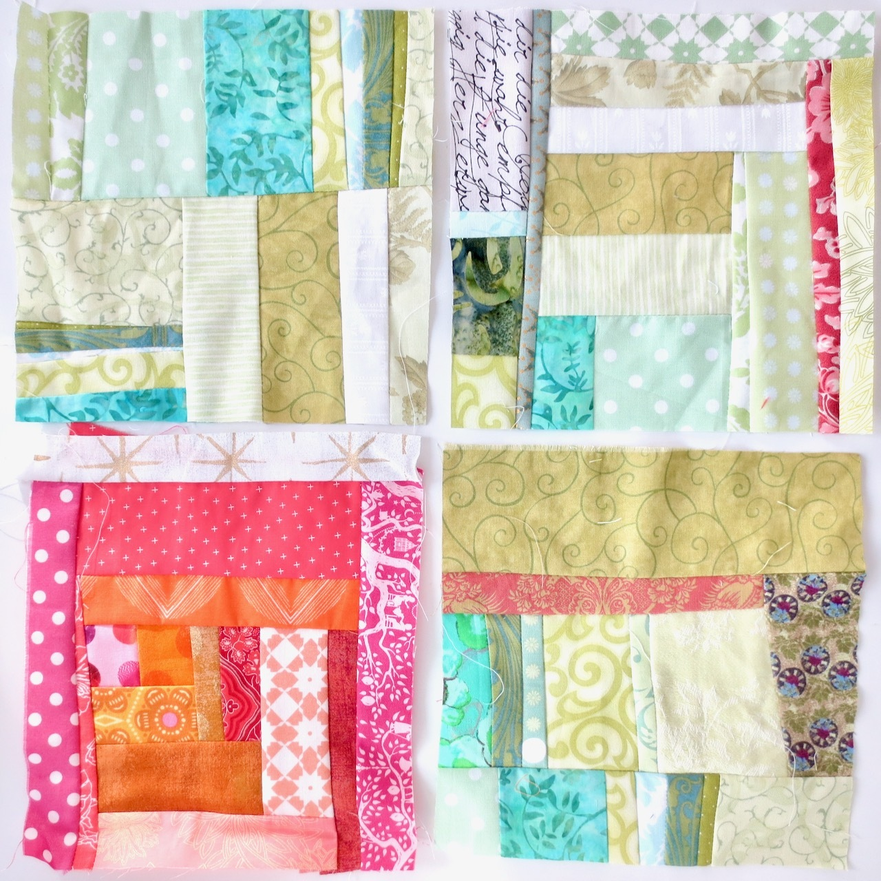 Quilt-as-you-go