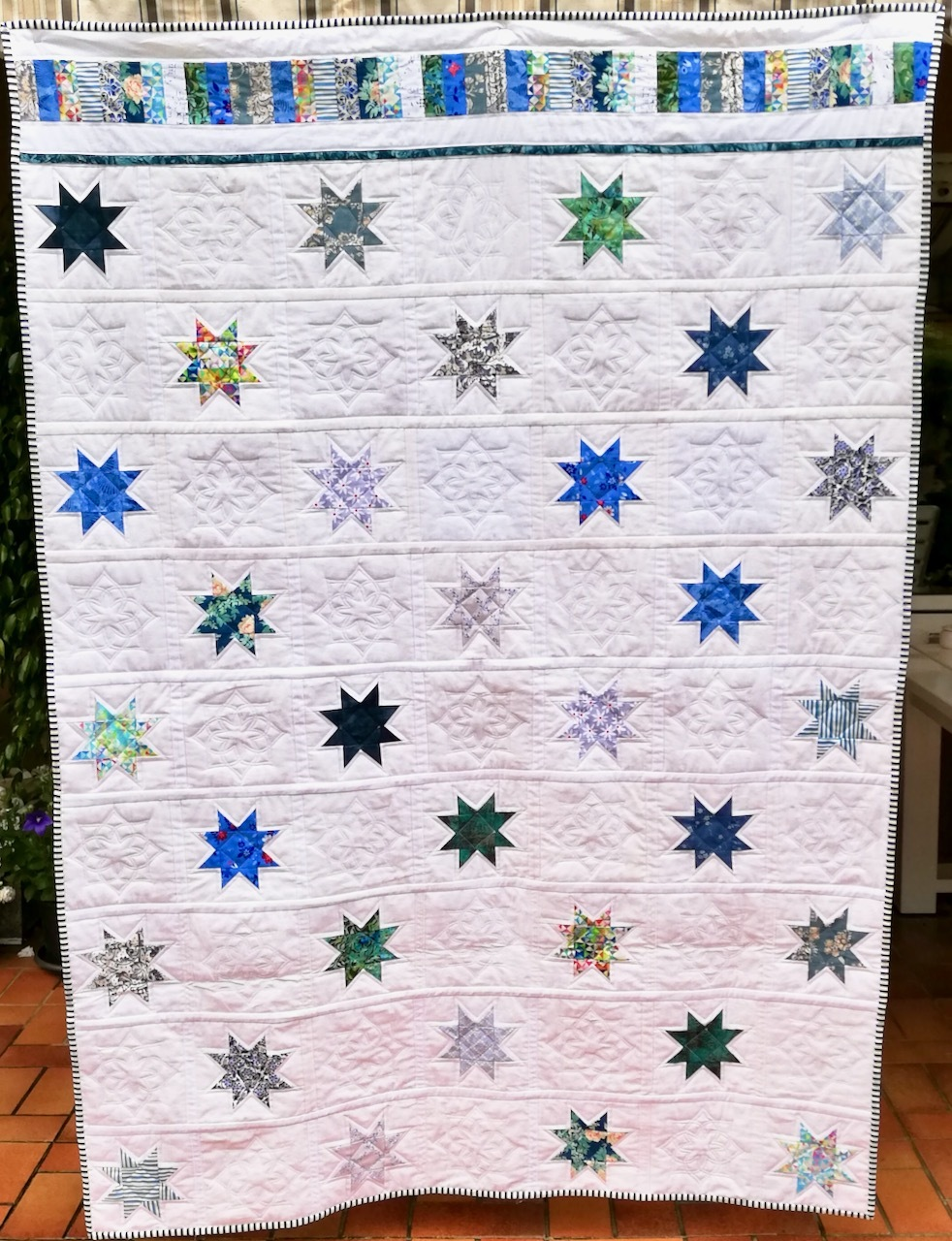 Quilt-as-you-go von Edith Bekker